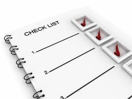 A graphic of a checklist.