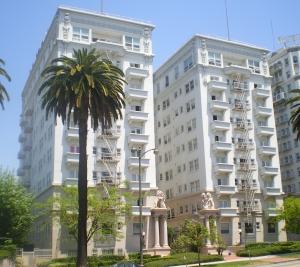 Apartment building move.